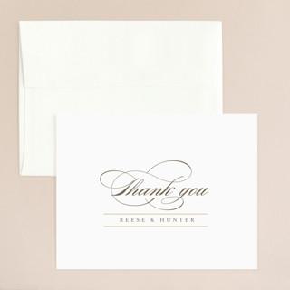 Valencay Thank You Card