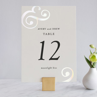 Classic Ampersand Gloss-Press® Table Numbers