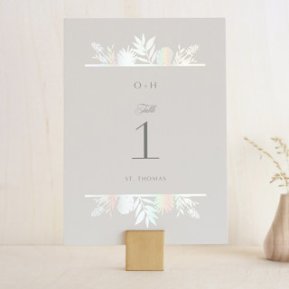Botanical Traditions Gloss-Press™ Table Numbers