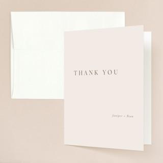 Juniper Folded Thank You Card
