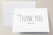 Folded Thank You Card