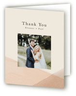 Desert Wash Folded Thank You Card