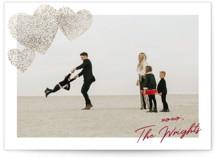 Sparkle Hearts Foil-Pressed Valentine Cards