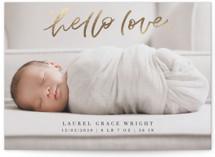 Hello Love Foil-Pressed Valentine Cards