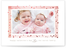 Framed Love Foil-Pressed Valentine Cards