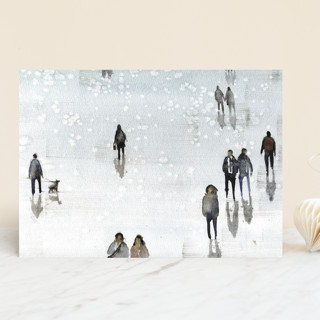 Winter Wander Vellum Background Cards