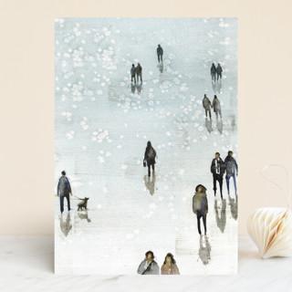 Winter Wander Vellum Background Cards