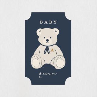Crown Baby Shower Stickers