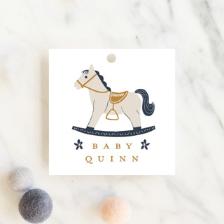Crown Baby Shower Favor Tags