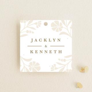 Jasmine Wedding Favor Tags