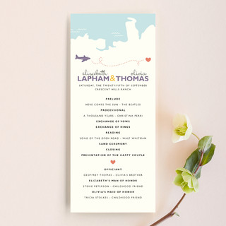 Two Brides Destination Wedding Programs