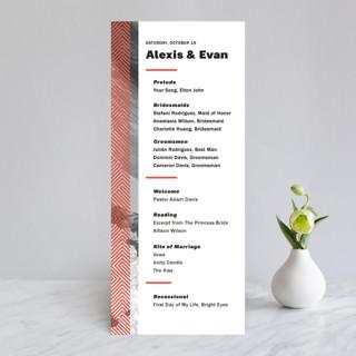Alexis Wedding Programs