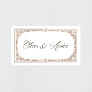 Adorn Wedding Favor Stickers