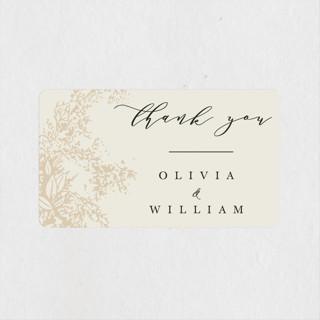 Olivia Wedding Favor Stickers