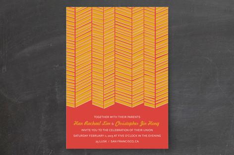 Chute Print-It-Yourself Wedding Invitations
