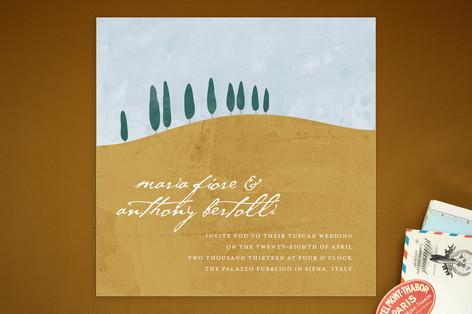 Tuscan Hill Print-It-Yourself Wedding Invitations