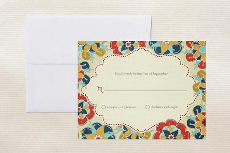 Las Flores Bonitas Print-It-Yourself RSVP Cards