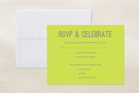 Something Bold Print-It-Yourself RSVP Cards