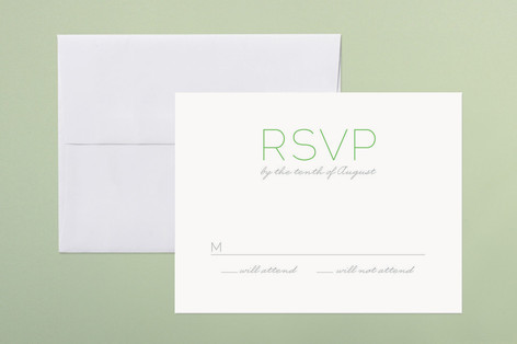 Simply Couture Print-It-Yourself RSVP Cards