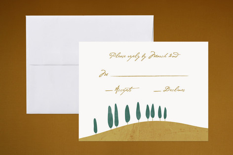 Tuscan Hill Print-It-Yourself RSVP Cards