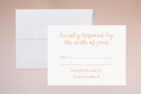 Charm School Print-It-Yourself RSVP Cards