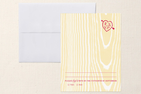 K-I-S-S-I-N-G Print-It-Yourself RSVP Cards